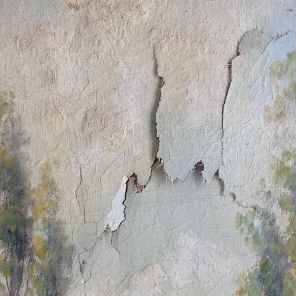 Ijff Restauratie - Werkzaamheden - beschasdiging van een doek 3